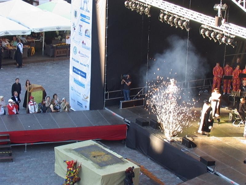 TALLINNA VANALINNAPÄEVADE AVAMINE 2009